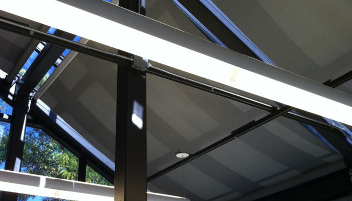 Draper Flexshade 2 Motorized Skylight Solar Shades
