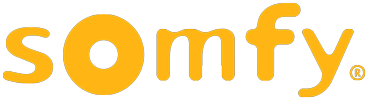 This Is A Picture Of The Somfy Logo.