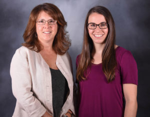 This is a picture of Maria Czupryna and Ali Stein, president and interior designer of CMC Shades.