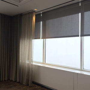 Sheer Pinched Pleated Drapes - Boston, MA