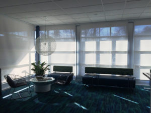 Light Filtering Roller Shade - Newton, MA