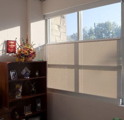 Motorized Solar Shades, CMC Shades