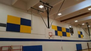 Sound Panels, Sound Proof, Gymnasium, Wall Tiles