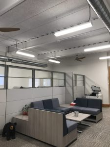 Tectum Ceiling Panels, Acoustical Products, Office In Amherst, MA